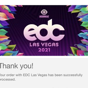 EDC LAS VEGAS TICKET for Sale in Montclair, CA