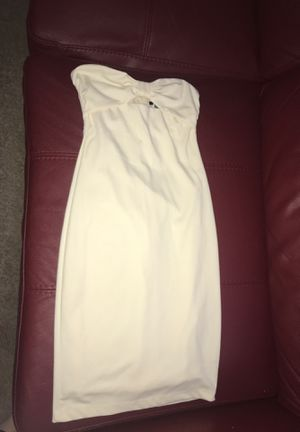 Eggshell white small tight dress for Sale in Austin, TX