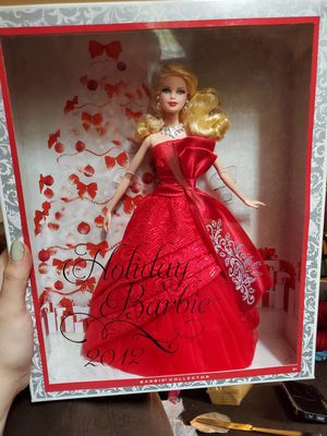 2012 holiday barbie for Sale in Gig Harbor, WA
