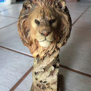 Vintage Limited Edition Lion Sculpture By Joe Slockbower for Sale in Phoenix, AZ