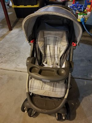 Graco FastAction Fold Click Connect Travel System Stroller for Sale in Moon, PA