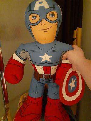Captain america plush for Sale in Greenwood, IN