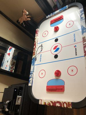 Air hockey table about 3ft long need gone ASAP no space in my room for it IT HAS TO BE PICKED UP!!! PRICE IS NEGOTIABLE for Sale in Bronx, NY