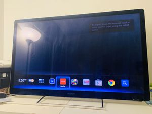 """Sony google tv 46"""" NSX-46GT1 great condition $120 only!!! for Sale in Long Beach, CA"""