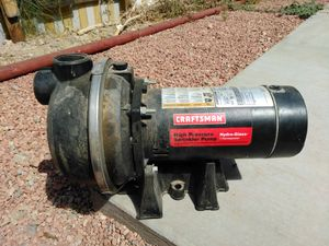 cfartsman high pressure sprinkler pump 48o 2434256 for Sale in Phoenix, AZ