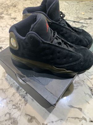 Nike Air Jordan 13 XIII Retro BG Black/Gym Red-Lt. Olive GS Sz 2Y for Sale in Washington, DC