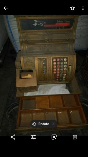 Antique cash register for Sale in Long Beach, CA