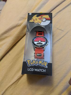 Awesome Pokemon watch LCD new make offer for Sale in Seven Hills, OH