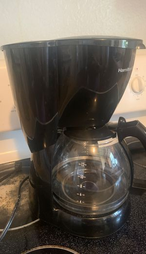 Hamilton Beach coffee maker for Sale in Fort Worth, TX