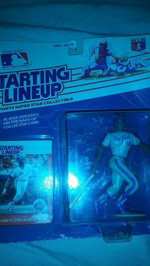 Starting Lineup 1988 Darryl Strawberry Collectible for Sale in Detroit, MI