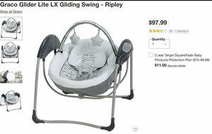 Brand New Graco Glider Lite LX Gliding Swing for Sale in Peoria, AZ