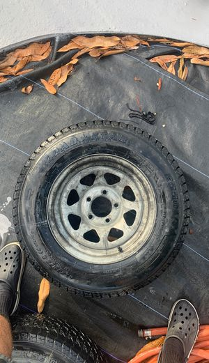 Trailer tires size 14 for Sale in Hialeah, FL