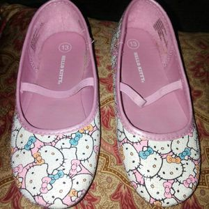 New Girls Hello Kitty flat size 13 for Sale in Norfolk, VA