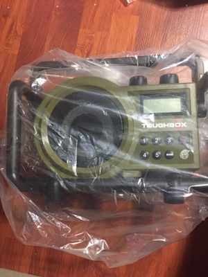 Sangean TB-100 (Toughbox) AM / FM / AUX-In Ultra Rugged Digital Tuning Rechargeable Radio for Sale in Hayward, CA