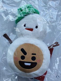 BTS BT21 Line Friends Official Christmas Winter Baby Shook Plush Plushie Doll NWT for Sale in Silver Spring,  MD