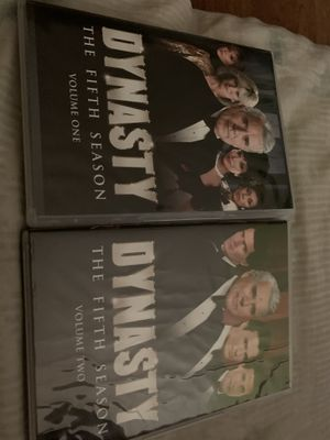 Dynasty season 5 used dvd for Sale in San Jose, CA