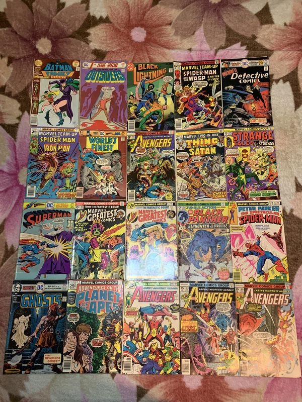Collectible Comic Books(Read Description)