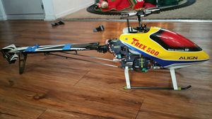 T REX 500 FLYBARLESS HELI.. for Sale for sale  Claremont, CA