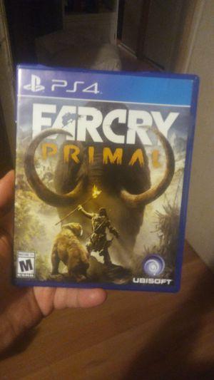 Far cry primal ps4 for Sale in Dallas, TX