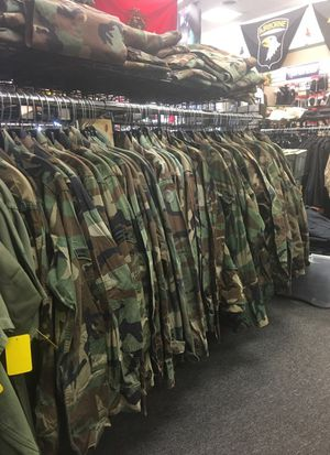 Camo fatigue shirts for Sale in Florissant, MO