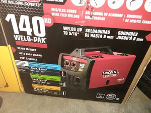 new lincoln wirefeed welder kit weldpak 140hd for Sale in Hoffman Estates, IL