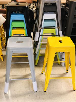 "24"" Bar Stools New in Box, Various Colors $20 for Sale in Garland, TX"