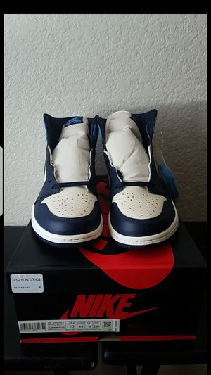 Air Jordan 1 retro obsidian for Sale in Palmdale, CA