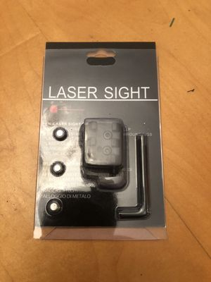 Rail mountable Laser sight new for Sale in Port Richey, FL