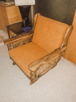 Vintage Rocker Chair, mid century rustic chair for Sale in Salt Lake City, UT