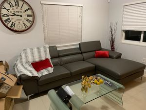 Large Grey Sectional Sofa Set $248obo for Sale in Miami, FL