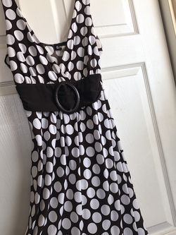 Summer Dress, Brown And white Size L for Sale in Riverside,  CA