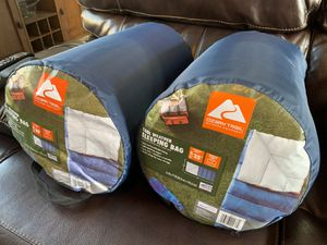 Brand new ozark sleeping bag $20 or 2 for $35 (one of each left) for Sale in Perris, CA