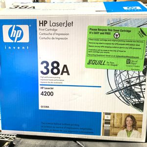 NEW Open Box HP LaserJet 38A Print Toner Cartridge Q1338A for Sale in Lynwood, CA