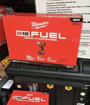 Milwaukee m fuel mid torque impact wrench for Sale in Cleveland, OH