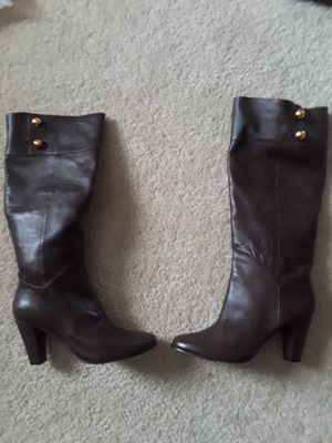 Kate Spade Brown Leather Boots-Size 8 for Sale in Lithonia, GA