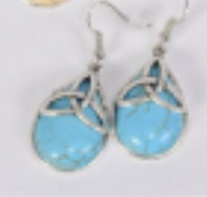 Celtic Turquoise earrings for Sale in Parkville, MD