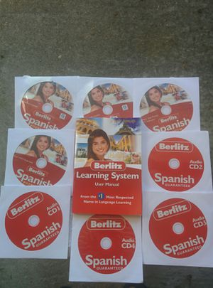 BERLITZ LEARNING SYSTEM (SPANISH) for Sale in Virginia Beach, VA