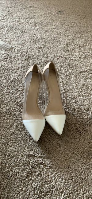【ONLY wore ONCE】Gianvito Rossi 85mm PVC heels for Sale in Atlanta, GA