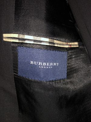 Men's Burberry suit- Black for Sale in Greenville, NC