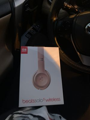 Brand new!! Not open beats solo wireless headphones!!! for Sale in Pompano Beach, FL