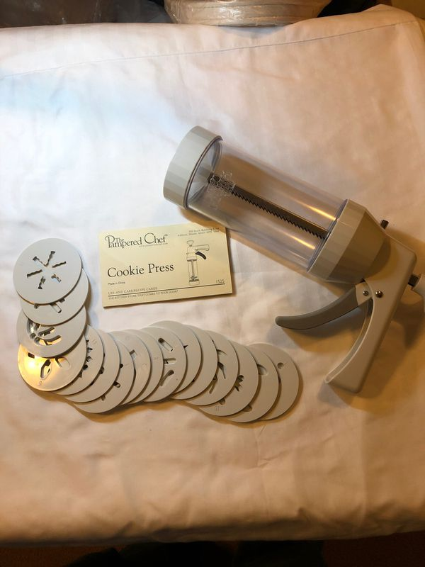 The Pampered Chef cookie press