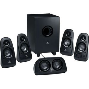 Logitech Z506 75W 5.1 Channel Surround Sound Speakers & Subwoofer for Sale in Irwindale, CA