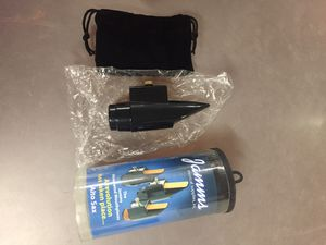 Jamms Alto Saxophone mouthpiece/ Ligature combo for Sale in Highland, IL
