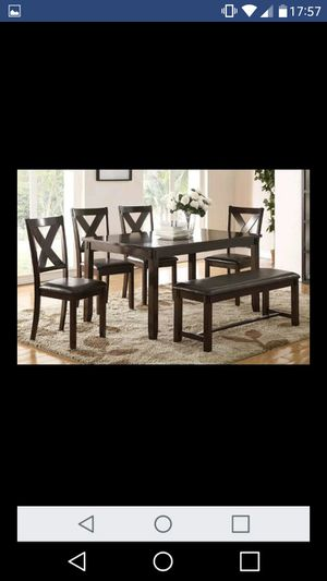 Brand New 6pc. Dining Table Set for Sale in Austin, TX