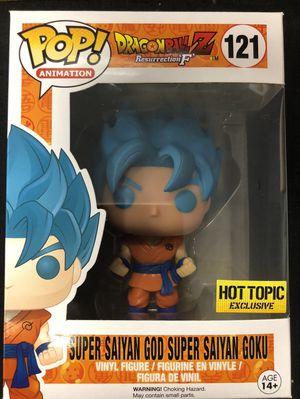 Funko POP! Super Saiyan God Super Saiyan Goku #121 for Sale in Palo Alto, CA
