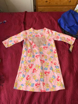 Cherokee girl pink flowered dress for Sale in Los Angeles, CA