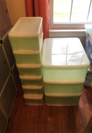 Container Store Stackable Storage Drawer for Sale in Hopedale, MA