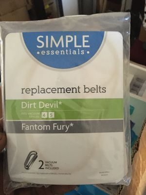 Vacuum replacement belts for Sale in MD, US
