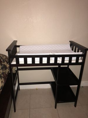 Baby changing table for Sale in Tampa, FL