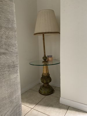Gold table lamp for Sale in Santa Monica, CA